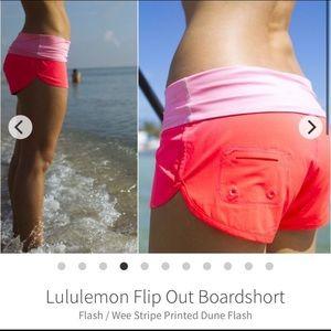 Lululemon Flip Out Board Shorts